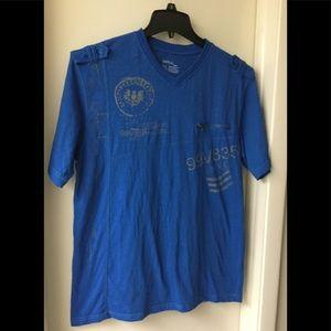 Vertical Sport Men's Blue Shirt